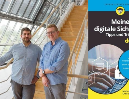 """Gründer von Aware7 veröffentlichen Buch """"Meine digitale Sicherheit – Tipps und Tricks für Dummies"""""""