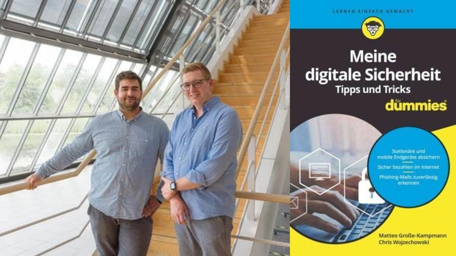"""Gründer von Aware7 veröffentlichen Buch """"Meine digitale Sicherheit - Tipps und Tricks für Dummies"""""""