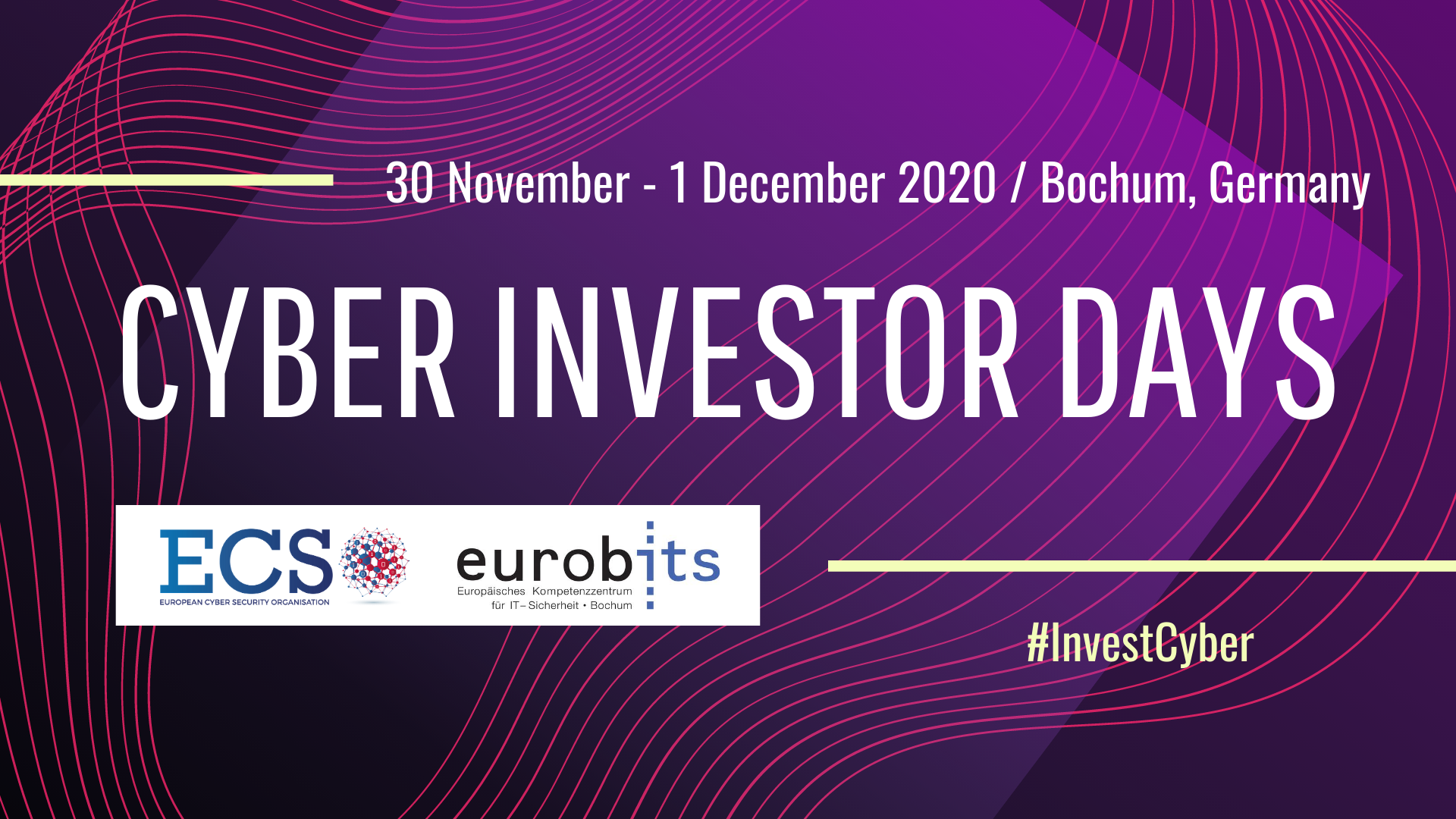 ECSO / eurobits Cyber Investor Days