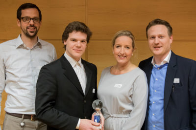 eurobits Jahresveranstaltung Excellence Award Winner and Comittee