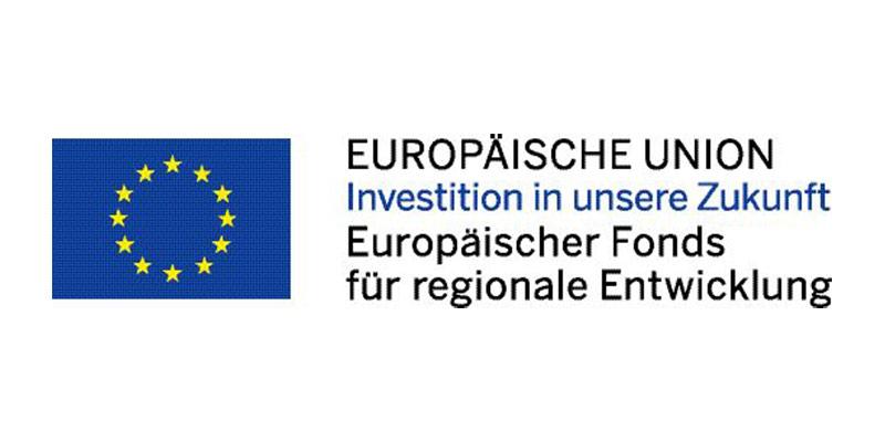 Europäische Union - Investition in unsere Zukunft - Europäische Fonds für regionale Entwicklung