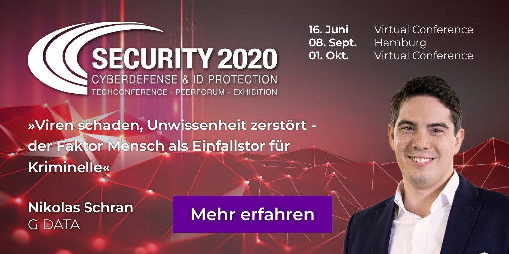 SECURITY 2020 Conference