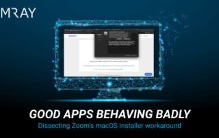 Partnernews VMRay | Good Apps Behaving Badly: Dissecting Zoom's macOS Installer Workaround